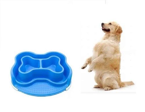 Plato comida perro gato mascota basa bones anti hormigas l