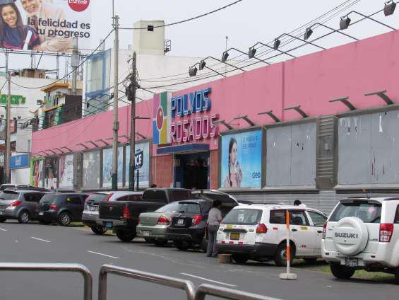 Alquiler local centro comercial polvos rosados en lima