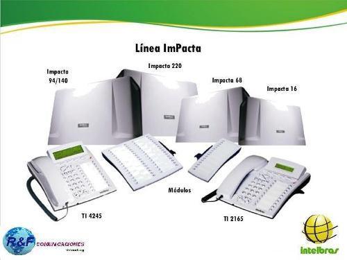 Centrales telefonicas intelbras impacta