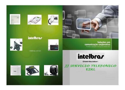 Intelbras perú - central telefonica - teléfono