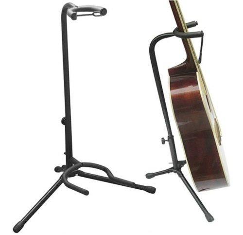 Atril de guitarra o bajo electrica parante pedestal stand
