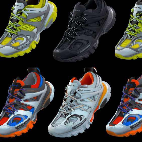 Balenciaga track trainers en lima