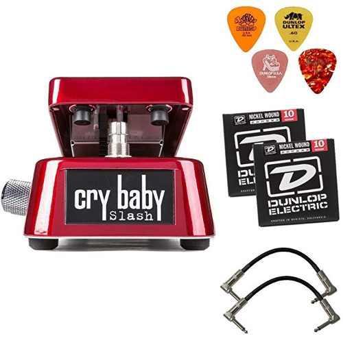 Dunlop Sw95cry Baby Slash Signature Wah Wah Pedal De