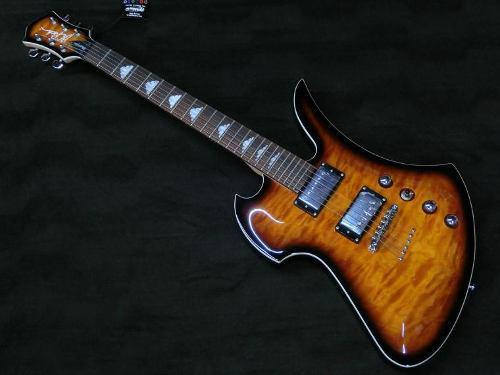 Guitarra Electrica Bc Rich Mockingbird Masterpiece Tobacco