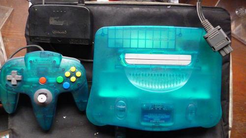 Nintendo n64 transparente origuinal (corporetro)