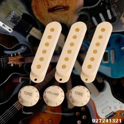 Pickguard Guitarra Stratocaster Sss + Covertores + Tremolo