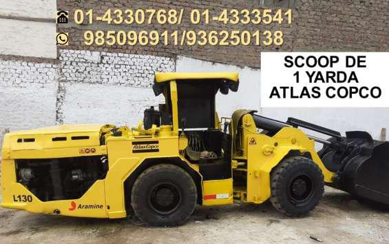 Scoop 1 yarda atlas copco en Lima