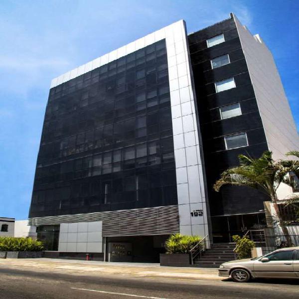Se alquila oficinas amobladas y equipadas de 263 mts 2 en