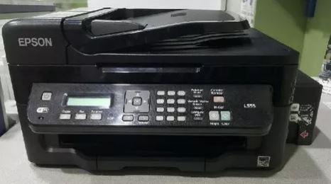 Impresora marca epson --- modelo l555 multifuncion imprime.