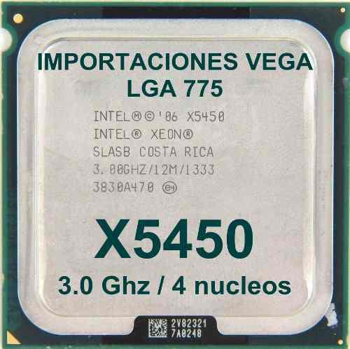 Intel Xeon X5450 Quad Core-12mb-3.0ghz-1333mhz-socket 775