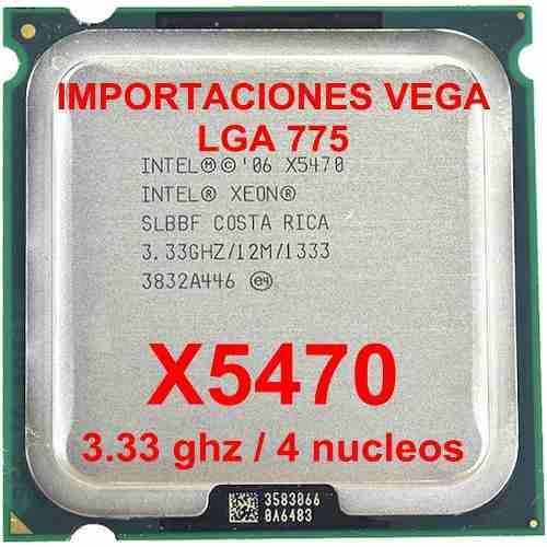 Intel Xeon X5470 Quad Core-12mb-3.33ghz-1333mhz-socket 775