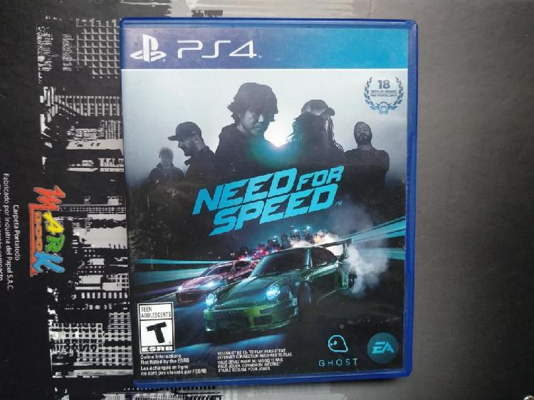 Need for speed juego ps