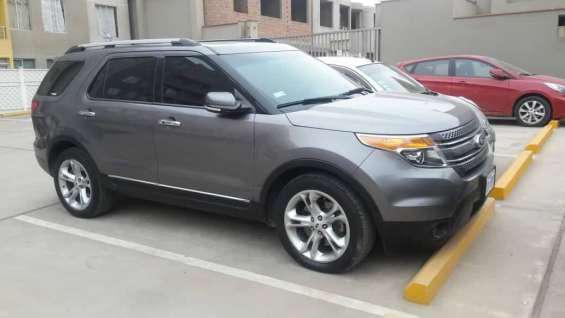 Vendo ford explorer 2014 en Lima