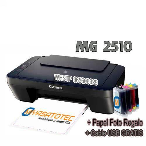 Impresora canon multifuncional mg2510 nuevo con sistema