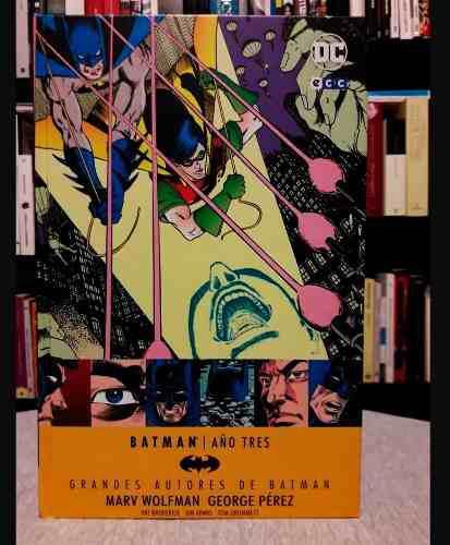 Batman año tres a 135 soles dc comics