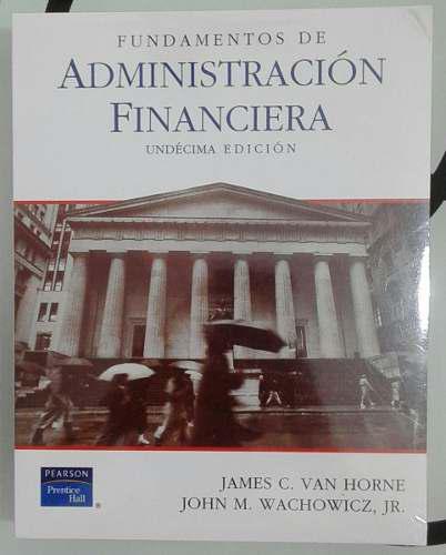 Administración Financiera Libro Original Importado Pearson