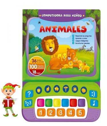 Animales computadora para niños