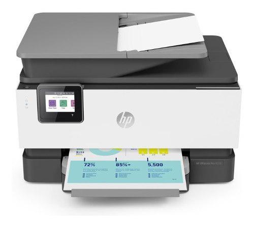 Impresora Multifuncional De Tinta Hp Officejet Pro 9010, Fax