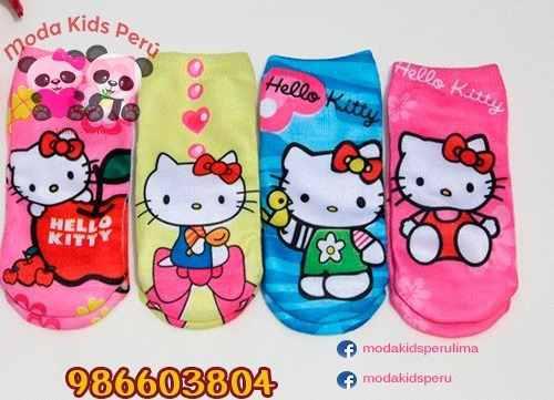Medias De Hello Kitty Para Niñas En Perú Económico