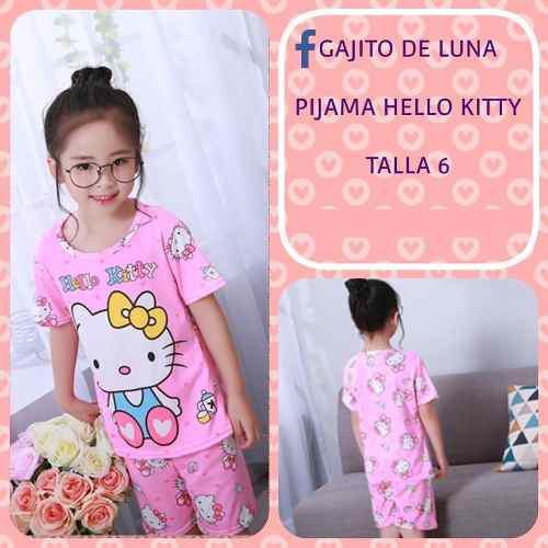 Pijama Hello Kitty Para Niñas