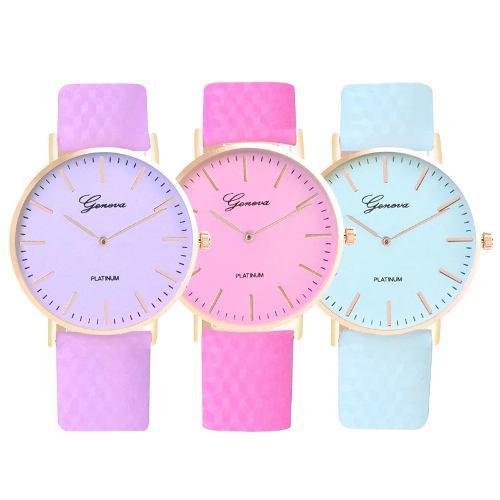 Reloj de mujer que cambia de color con el sol