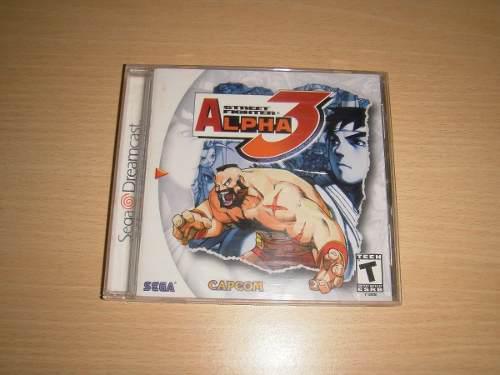 Street Fighter Alpha 3 (dreamcast Original Completo)