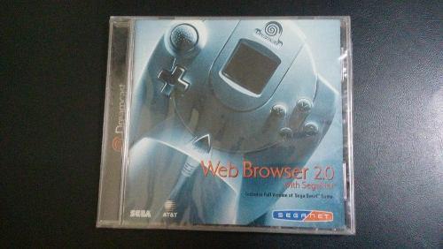 Web Browser 2.0 - Sega Dreamcast