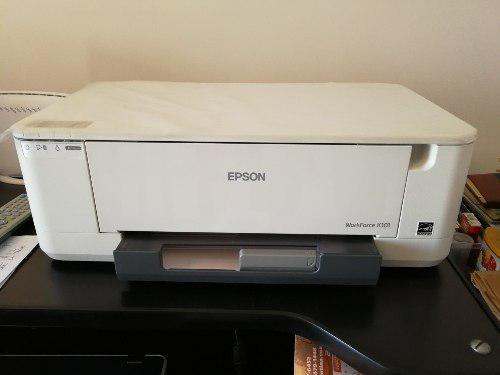 Impresora epson workforce k101 monocromatica doble cara