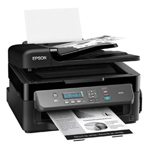 Impresora multifuncional epson workforce m205, continua