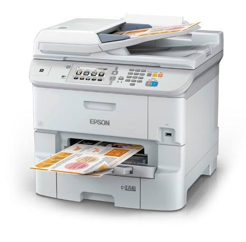 Multifuncional de tinta epson workforce pro wf-6590