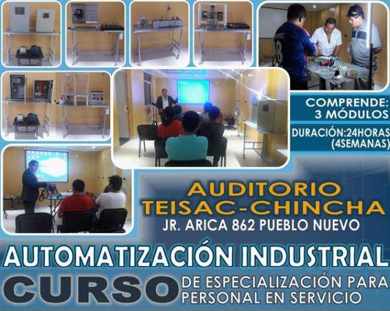 Automatizacion e instrumentacion industrial-cursos en ica