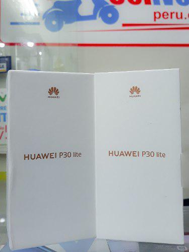 Huawei p30 lite 128gb libre de fabrica nuevo sellado