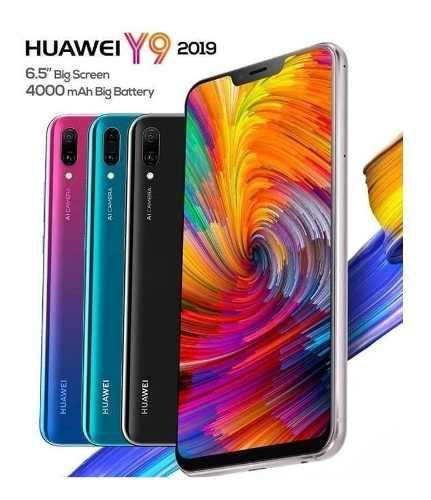Huawei y9 2019 64gb 4000mah tienda fisica garantia