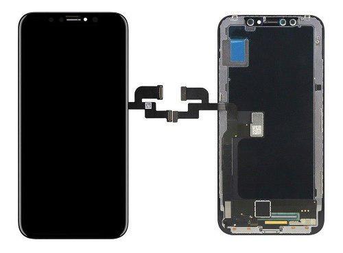 Pantalla celular iphone xs max negro genérica +instalación