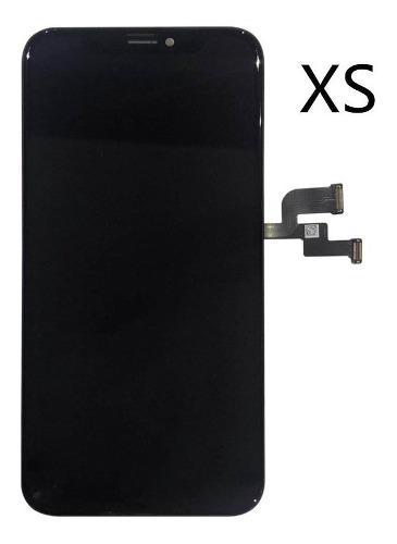 Pantalla celular iphone xs negro 100% original +instalación