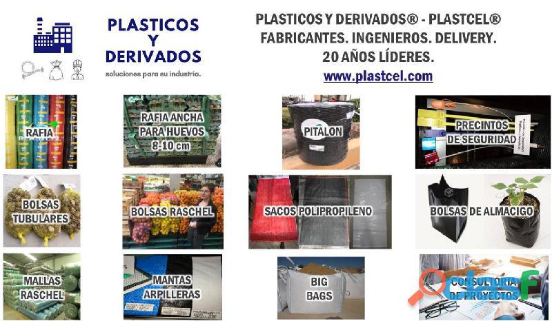 Plásticos y derivados – plastcel somos fabricantes