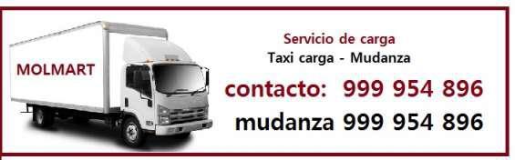 Servicio de mudanza, taxi carga, camión de carga en lima