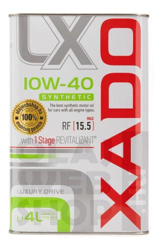 Aceite sintetico 10w40 - 4 litros