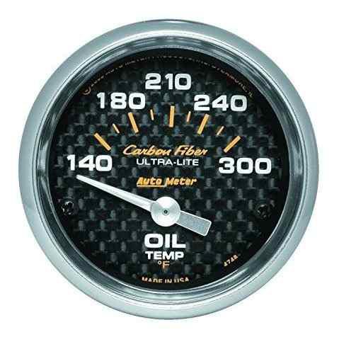 Calibrador de temperatura de aceite electrico de fibra de ca