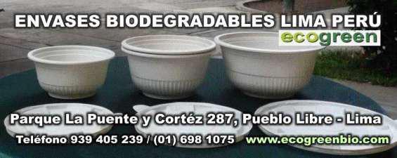 Envases ecologicos biodegradables pueblo libre peru lima
