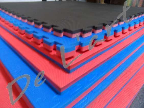 Peru goma eva pisos dentados tatami artes marciales,