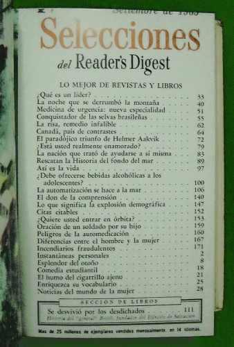 Selecciones reader s digest 【 ANUNCIOS Agosto 】 | Clasf