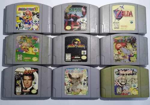 Smash mario party zelda original americano nintendo 64 n64