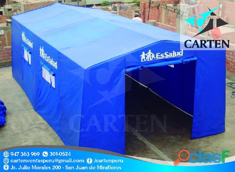 Campamentos de campaña carten perú