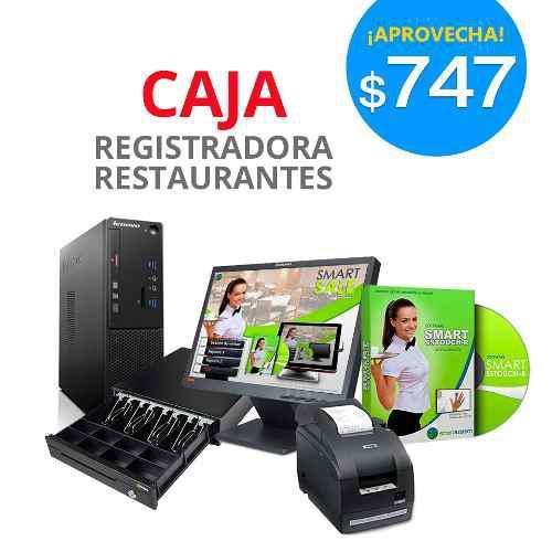 Caja registradora táctil $797 - restaurantes