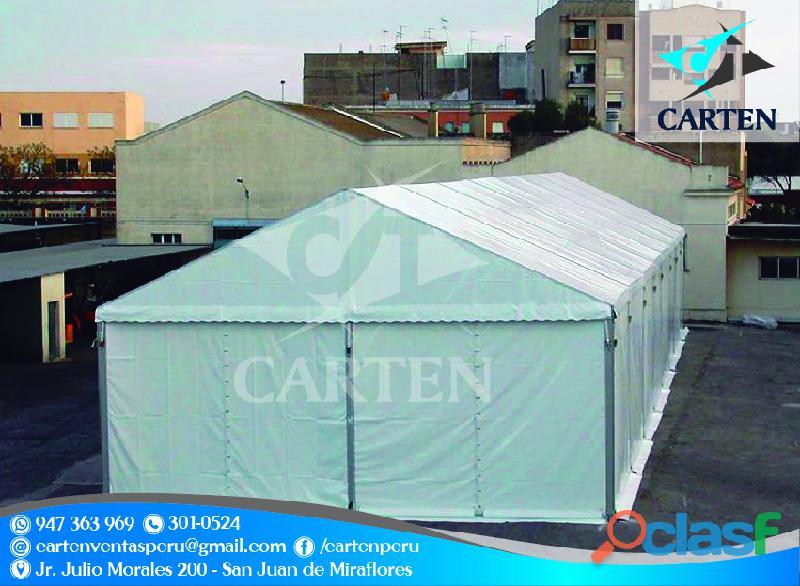 Campamentos resistentes de campaña carten perú