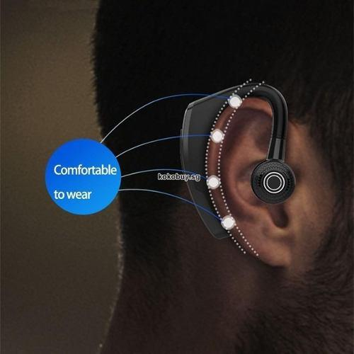 Audifono bluetooth v10 manos libres 5.0 con 12 hrs continuo