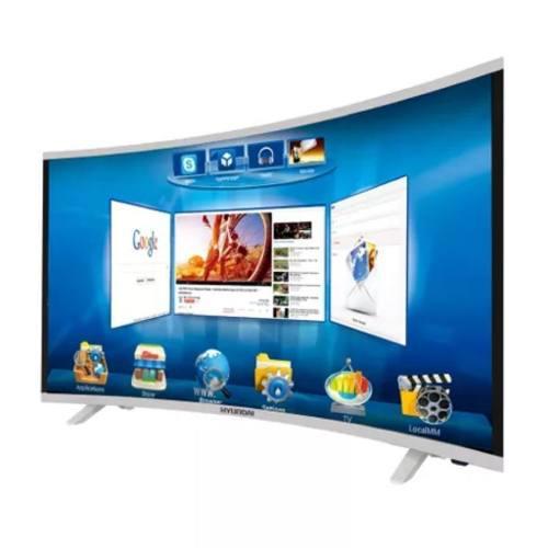 TELEVISOR HYUNDAI 49 CURVO,SMART TV,WIFI,MEMORIA INT 8GB segunda mano  Peru (Todas las ciudades)