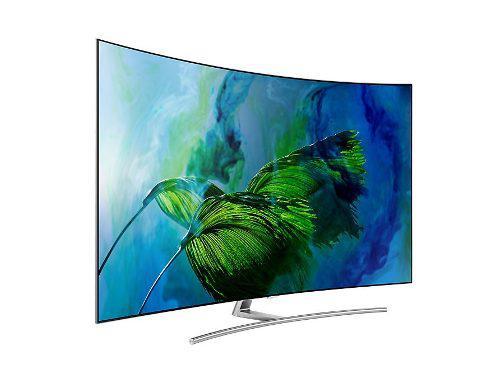 Televisor samsung 65 qled q8c curvo,smart tv,ultra hd 4k