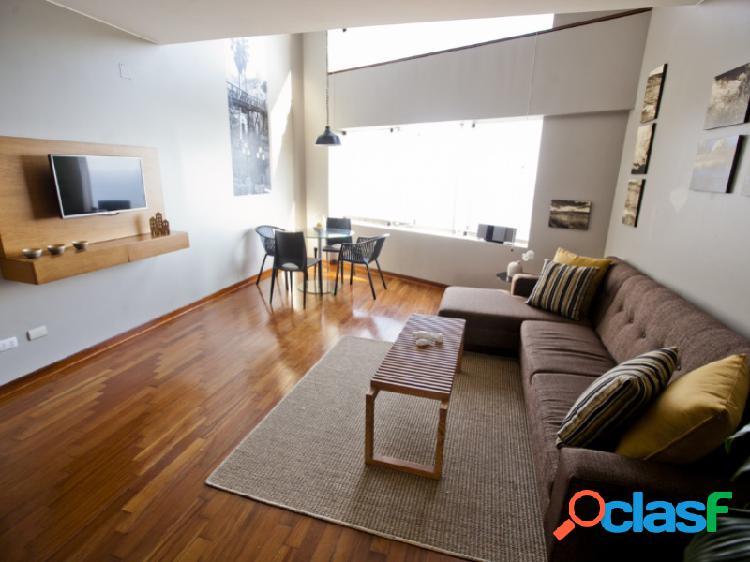 Alquiler departamento en miraflores hermoso duplex amoblado moderno